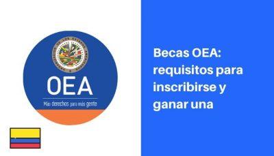 Becas OEA requisitos