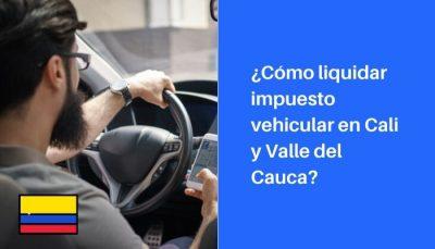 consulta impuestos vehiculos cali