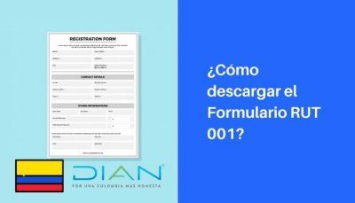 formulario rut 001