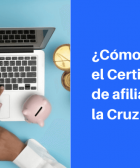 certificado afiliacion cruz blanca